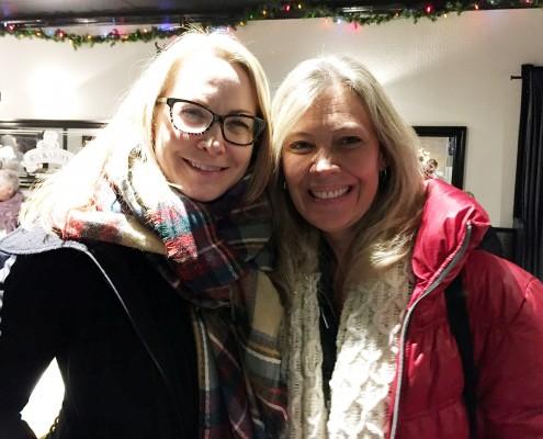 Wendy Gilbert and Andrea Richardson